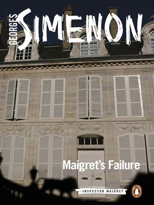 cover image of Maigret's Failure